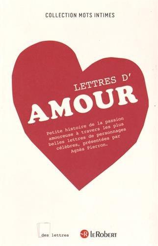 DES LETTRES D'AMOUR