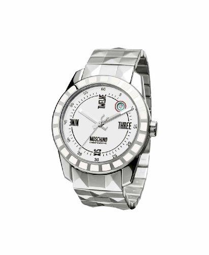 Moschino - MW0022 - Montre Homme - Quartz - Analogique - Bracelet Acier Inoxydable Argent