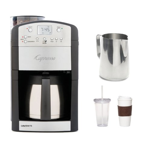 Capresso 465.05 Coffeeteam TS 10-cup Thermal