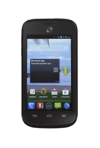 Zte Savvy Android Cell Phone - No Contract (Net 10)