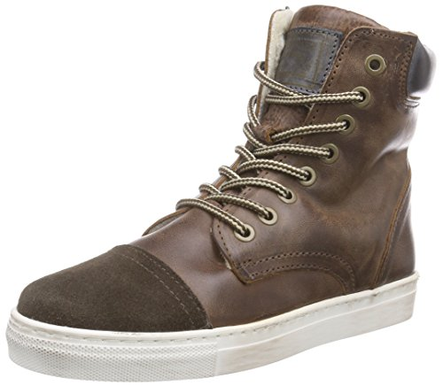 HIP H2574, Sneakers alte , Ragazzo, Marrone (Braun (28CO)), 30