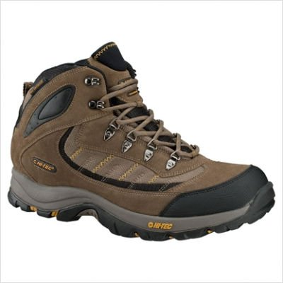 Hi-Tec Men's Natal Mid WP Light Hiking Shoe,Taupe/Taupe/Dijon,10 M