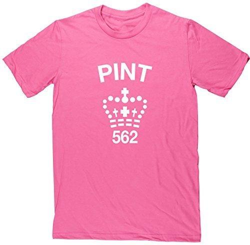 hippowarehouse-camiseta-hombre-rosa-rosa-xx-large