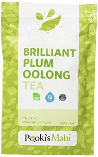 Pooki'S Mahi Brilliant Plum Oolong Tea, 2 Ounce