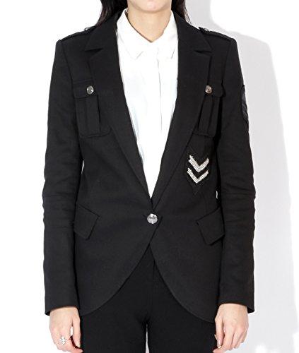 Wiberlux Balmain Women's Arrowhead Patch Accent Jacket