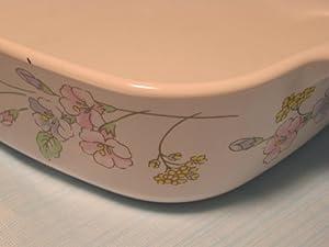 Vintage Corningware Pastel Bouquet 1 Qt Casserole dish with Lid A-1-B