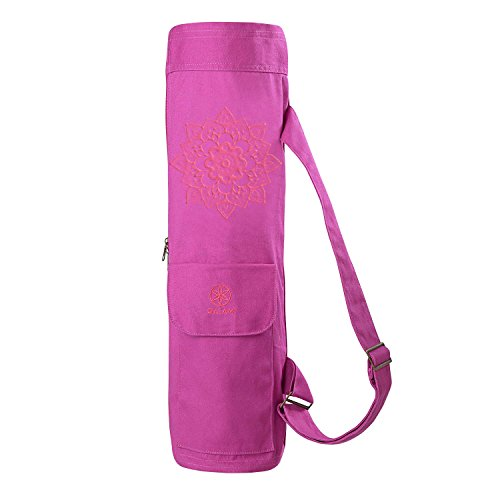 Gaiam FullZip Cargo Pocket Yoga Mat Bags