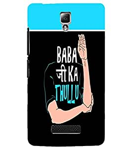 PrintDhaba Quote D-3756 Back Case Cover for LENOVO A2010 (Multi-Coloured)