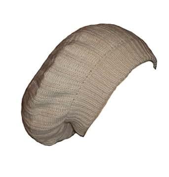 Bonnet rasta galette plusieurs couleurs disponibles (Beige)