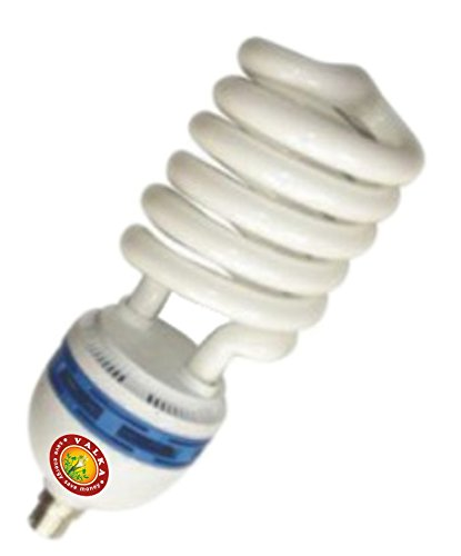 26W Spiral CFL Bulbs (White,Pack Of 6)