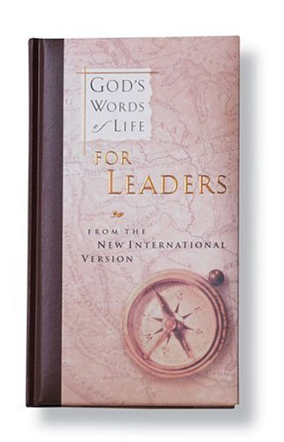 God's Words of Life for Leaders, Zondervan
