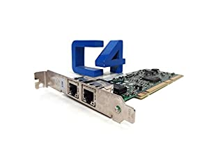 Intel PWLA8492GT PRO/1000 GT PCI/PCI-X Dual Port Server Adapter (Can be used in 32 or 64 bit PCI slots) - OEM