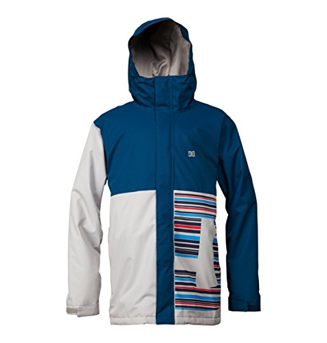 DC Shoes Men's Union Snowboard Jacket Blue L