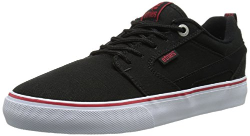 Etnies Men's Rap CT Lace Up, Black/White/Red, 10 D US
