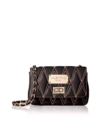 Valentino Bags by Mario Valentino Women's Noelle D Cross Body, Black, One Size