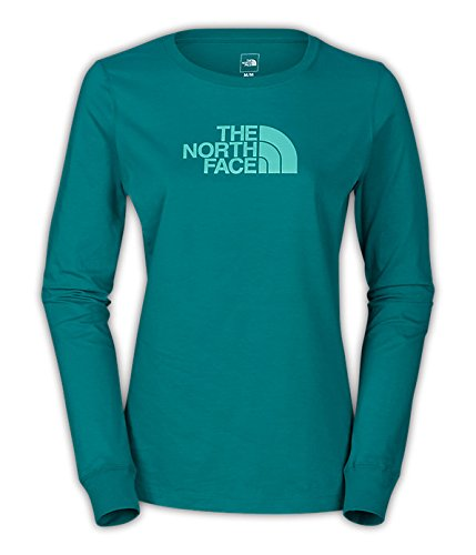 The North Face Women'S L/S Half Dome Tee (Large) front-643588