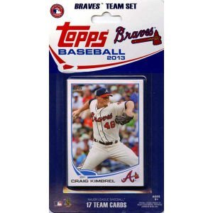 MLB Atlanta Braves Licensed 2013 Topps® Team Sets