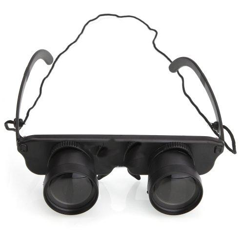 3X28 Glasses Style Fishing Close Focus Binoculars Telescope