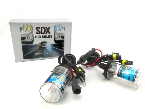 Hid Xenon Dc Headlight Replacement Bulbs By Sdx, H10, 6000K