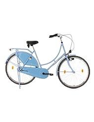 Ladies' Dutch Town Bike Tussaud 3 Gear Blue KS Cycling