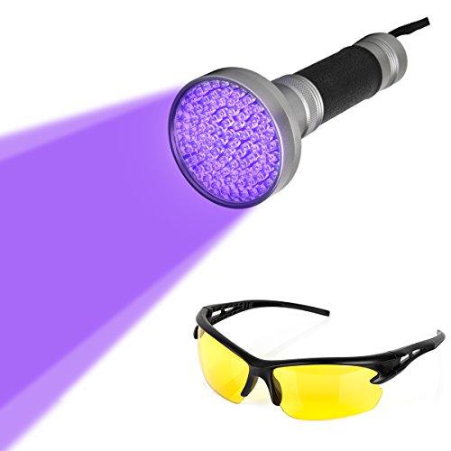 100-uv-led-ultraviolett-schwarzlicht-taschenlampe-stain-detektor-mit-uv-schutzbrille-fur-skorpion-ha