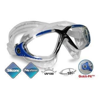 Aqua Sphere Vista Schwimmbrille - transparent - aqua blue -