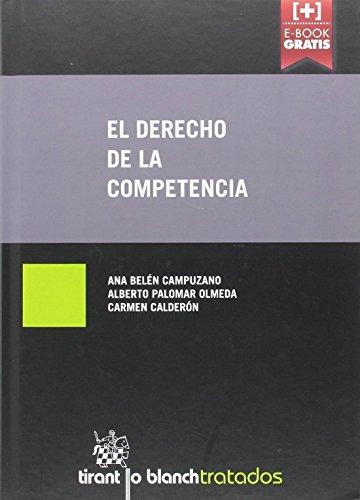 El Derecho de la Competencia (Tratados, Comentarios y Practicas Procesales)