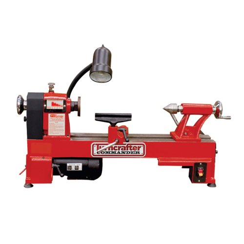 PSI Woodworking TCLC10 Commander 10-Inch Multi-Speed Midi Lathe