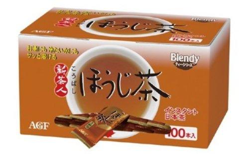 AGF ブレンディ 新茶人こうばしほうじ茶スティック 100P