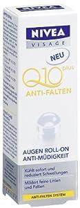 Nivea Visage Q10 Plus Anti-Wrinkle Eye Refreshing Roll-On - 0.34 Fl.Oz / 10Ml
