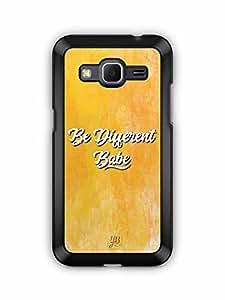 YuBingo Be Different Babe Designer Mobile Case Back Cover for Samsung Galaxy Core Prime