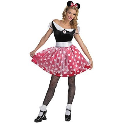 Minnie Mouse Deluxe Costume - Large - Dress Size 12-14