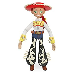 "Toy Story PULL STRING JESSIE 16"" TALKING FIGURE - Disney Exclusive"