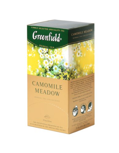 Greenfield Tea, Camomile Meadow, 25 Count (Pack of 10)