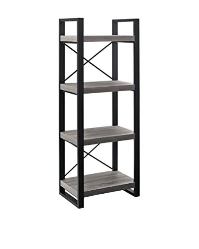 Walker Edison Multi-Purpose Media Tower, Ash Grey