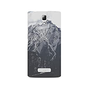 TAZindia Designer Printed Hard Back Case Cover For Lenovo A2010