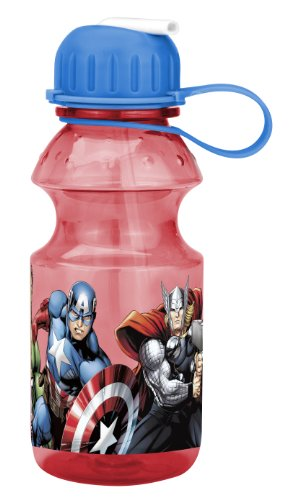 Zak Designs Avengers Assemble Tritan Sports Bottle, 14-Ounce