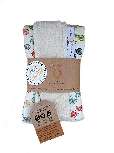Modern | Organic | Hemp | Baby Security Blanket | Nuhni | Nature Hike