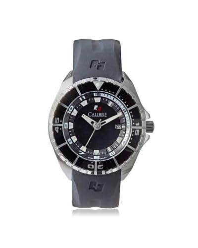 Calibre Men's 4S2-04-001.7 Sealander Black Rubber Watch