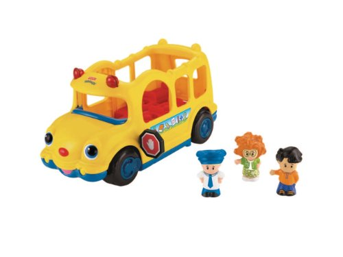 Fisher Price 0894 - Little Movers School Bus front-792095