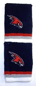 NBA Atlanta Hawks Adidas 4 Wristbands - 1 Pair - Osfa by adidas