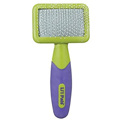 Dog Slicker brush with Coated Tips