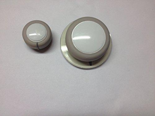 3364291 Washing Machine White Timer Knob
