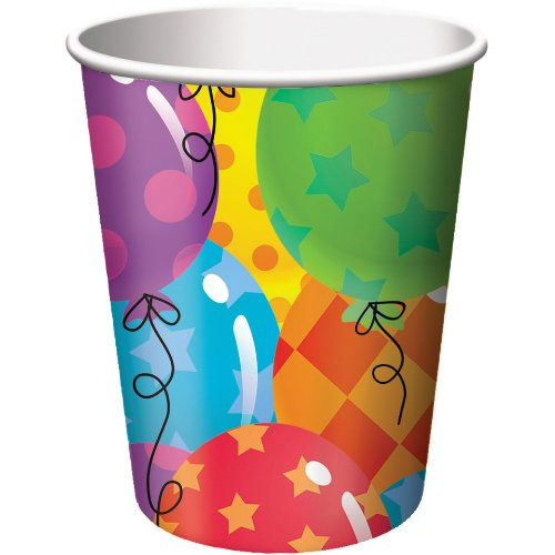 Balloon Patterns 9oz Cups