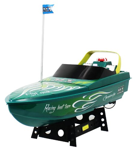 MX Championship Green Venum Electric RTR RC Speed Boat Quality Remote Control Boat RECHARGEABLE!