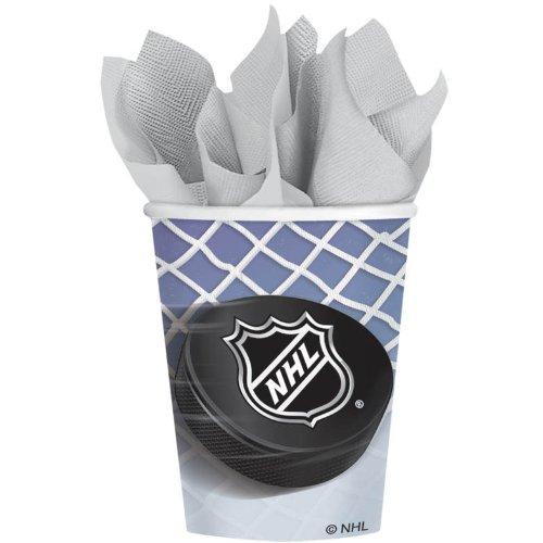NHL Ice Time 9 oz. Party Cups 8 Pack