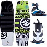 2014 Hyperlite Tribute Wakeboard with Focus Boots by Hyperlite