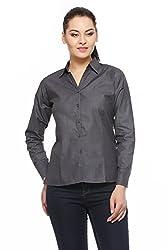 Fasnoya Women's Formal Shirt-S