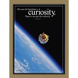 Framed Inspirational  on Amazon Com  Curiosity Motivational Framed Poster  Inspirational Art