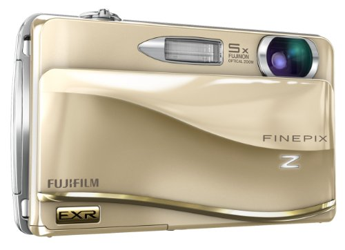 Fujifilm FinePix Z800EXR 12 MP Digital Camera with 5x Periscopic Optical Zoom and 3.5-Inch Touch-Screen LCD (Gold)